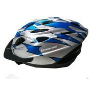 Capacete Ciclismo High One Mv184 Cinza Azul M 56-58