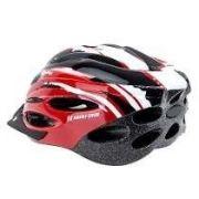 Capacete Ciclismo High One Mv26 Vermelho Branco Pto M 56-58