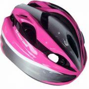 Capacete Ciclismo High One Mv602 Rosa Tam M Infantil Criança