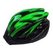 Capacete Ciclismo Absolute Wt012 Pisca Viseira Verde M 56-58