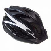 Capacete Ciclismo Absolute Wt012 Viseira Pisca Preto G 58-60