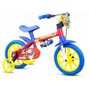 Bicicleta Infantil Nathor Aro 12 Fireman Vermelha Menino