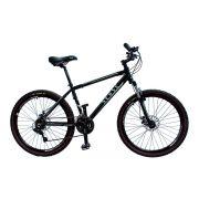 Bicicleta aro 26 MTB Sense Extreme Shimano Preta 21v