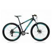 Bicicleta Aro 29 Sense Fun Grupo Shimano Azul com Verde