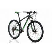 Bicicleta Aro 29 Sense Rock Evo Grupo Shimano Verde