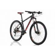 Bicicleta Aro 29 Sense Rock Evo Grupo Shimano Vermelha