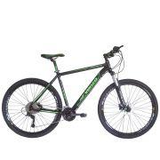 Bicicleta Aro 29 Venzo Aquila 29 Freio Hidráulico 27v High One Garfo Trava Preload