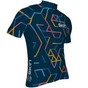 Camisa Ciclismo Masculina Skin Fun Azul Bike