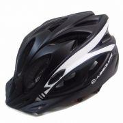 Capacete Ciclismo Absolute Wt012 Viseira Pisca Preto