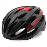 Capacete Ciclismo Giro Trinity Preto Vermelho Tamanho 54-61