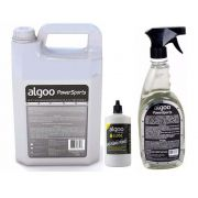Desengraxante 5l + lubrificante lube cera 200ml + desengraxante 700ml spray