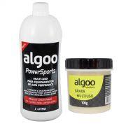 Desengraxante Algoo 1 Litro + Graxa Multiuso 100g