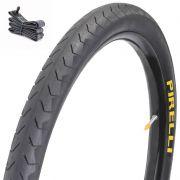 Kit 01 pneu Pirelli 700x32 + 01 Câmara Kenda 700x28/32
