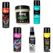 Kit Algoo Limpeza Silicone Higienizador Lubrificação Graxa Bike