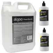 Kit Desengraxante Algoo Sports Multiuso Galão 5l + 2un Lube Cera 200ml