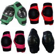 Kit Infantil Cotoveleira + Joelheira Bike Skate Roller