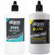 Kit Lubrificantes Algoo Ptfe Úmido 200ml + Algoo Cera 200ml Bike