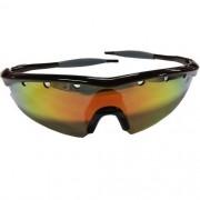 Óculos Ciclismo 3 Lentes + Case Preto Fusion High One