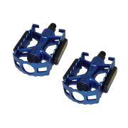 Pedal Alumínio Feimim 1/2 Rosca Fina Sueco Azul Ningbo