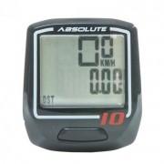 Velocímetro Ciclocomputador Ciclismo 10 Funções Absolute IRIX10 Sem Fio