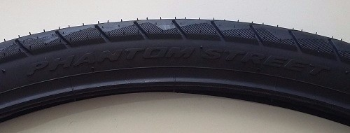 Pneu Pirelli 700 X 38 Phantom Street Slick Speed Bike Preto