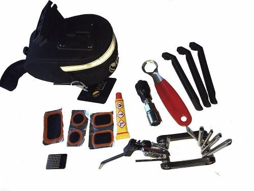 Bolsa Selim Wg Sports Kit Multi Ferramentas 5 peças