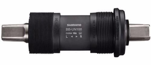 Movimento Central Shimano Bb-un100 122,5mm 68mm Ponta Quadrada
