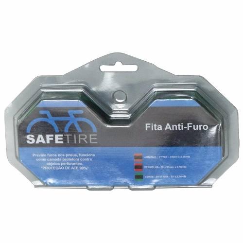 Fita Anti Furo Pneu Aro 27.5 700 Safetire 23mm Bike Par