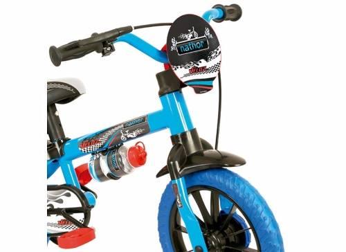 0152c8bf8 ... Bicicleta Infantil Nathor Aro 12 Veloz Azul Menino - Loyal Bike ...