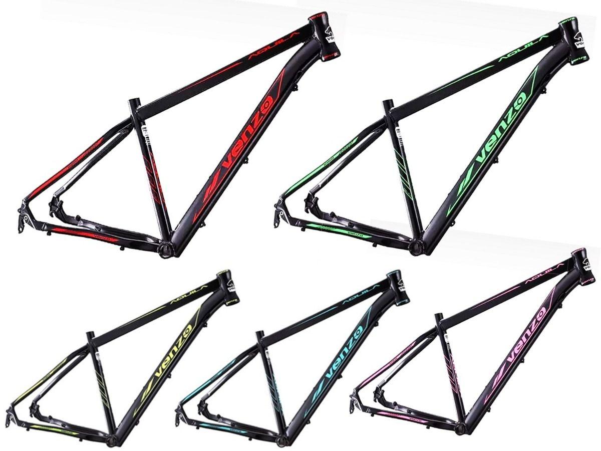 Bicicleta Venzo Aquila 29 Freio Mecânico 24v Shimano Tourney Tx Garfo Preload