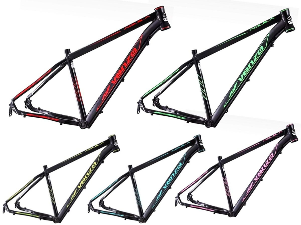 Bicicleta Venzo Aquila 29 Freio Hidráulico 27v Shimano Alivio Hollowtech Garfo Trava Preload