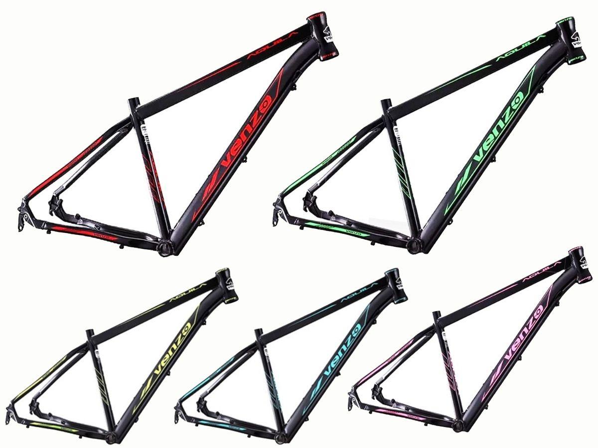 Bicicleta Aro 29 Venzo Aquila 29 Freio Mecânico 21v Garfo Mode Rodas Absolute