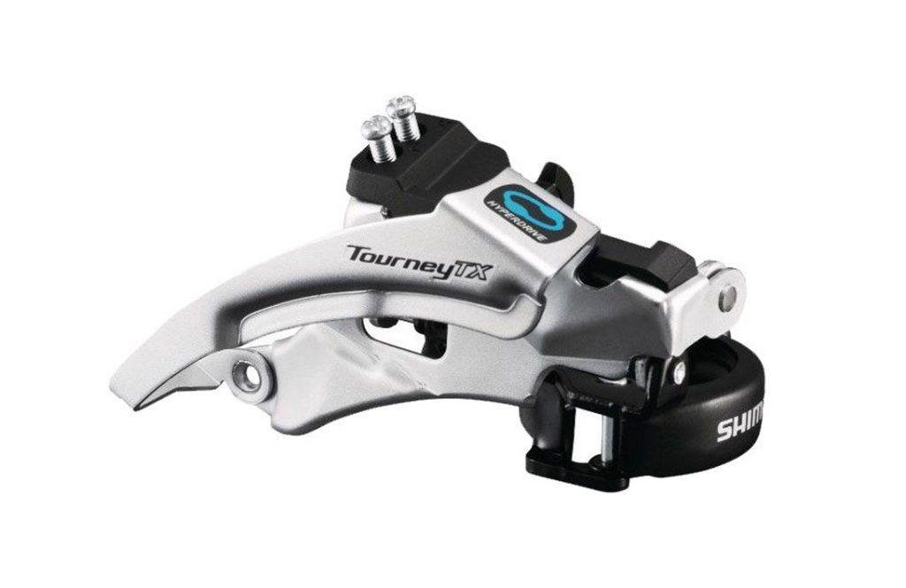 Câmbio Dianteiro Shimano Tourney Tx800 31.8mm 8v Dual Pull