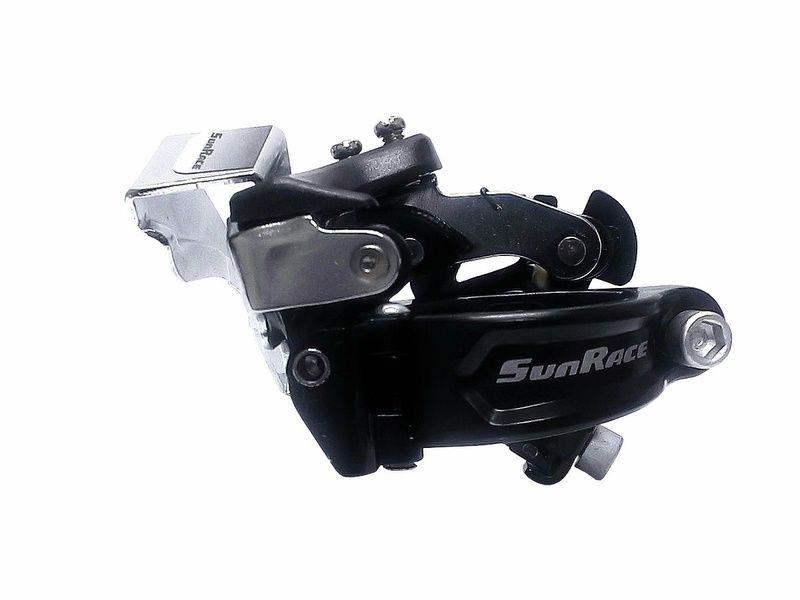 Câmbio Dianteiro Sunrace Dual Pull 7/8v Sr-m300 34,9/31,8mm