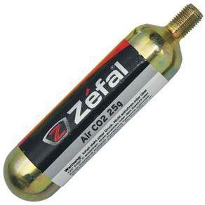 Cartucho Co2 Refil Zefal Com Rosca 25g Enchimento Rápido