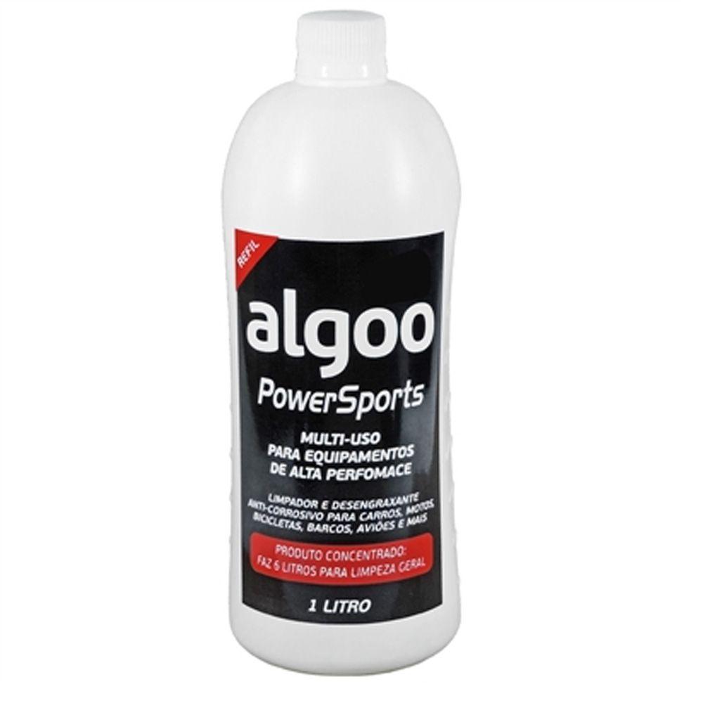 Desengraxante Algoo 1 Litro + Lubrificante Lube Cera 200ml