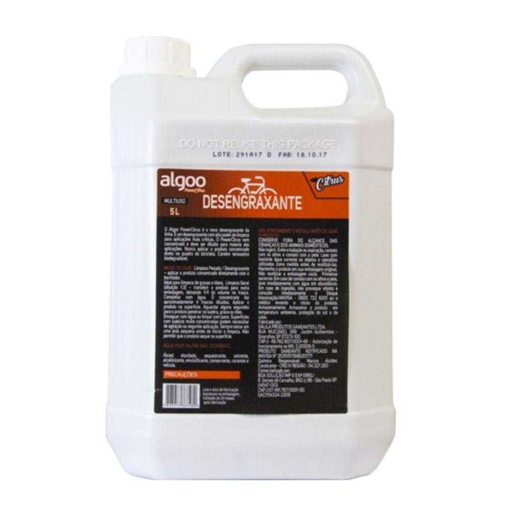 Desengraxante Algoo 5L Citrus + Limpador Corrente Park Tool