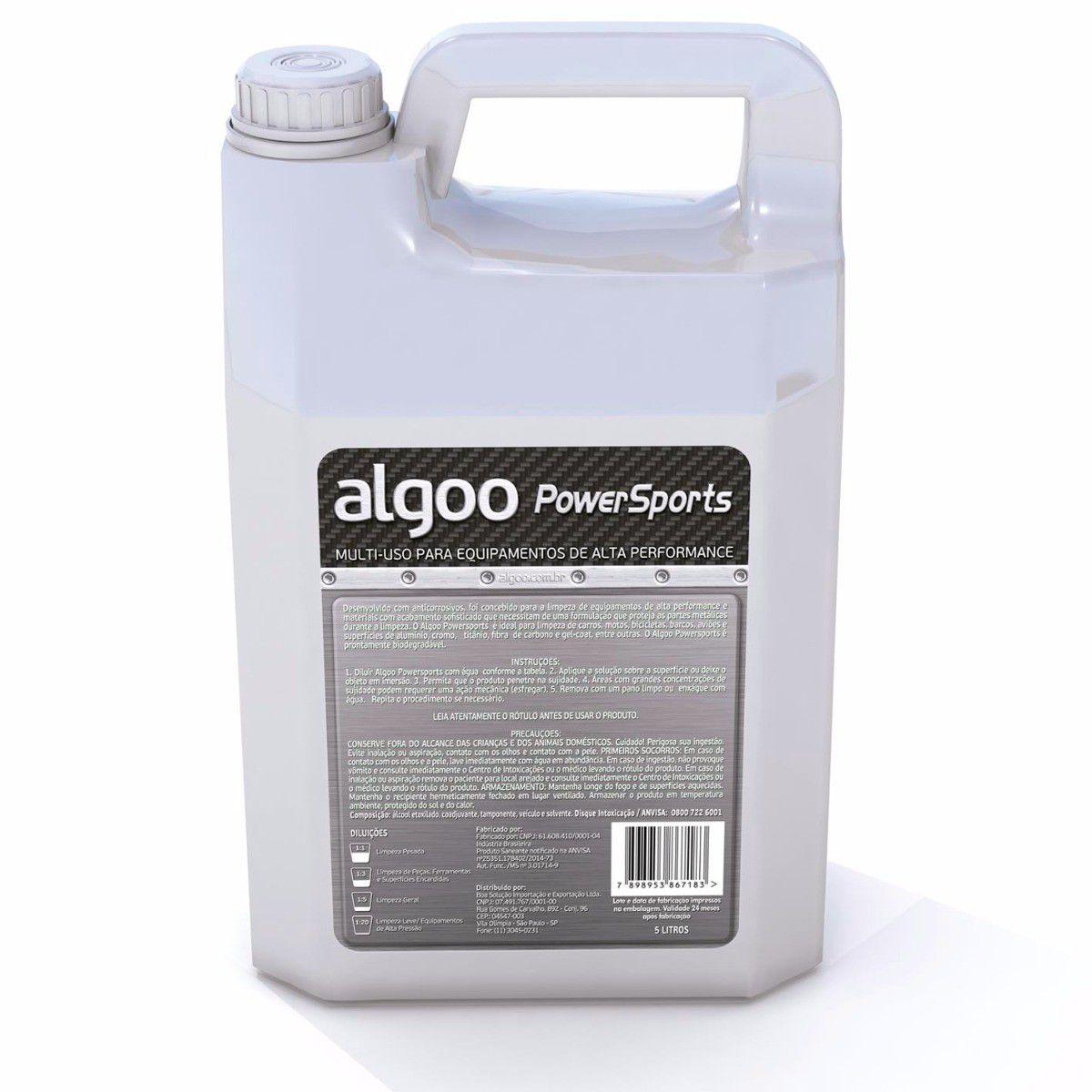 Desengraxante Algoo 5l + Limpador de Corrente Ice Toolz