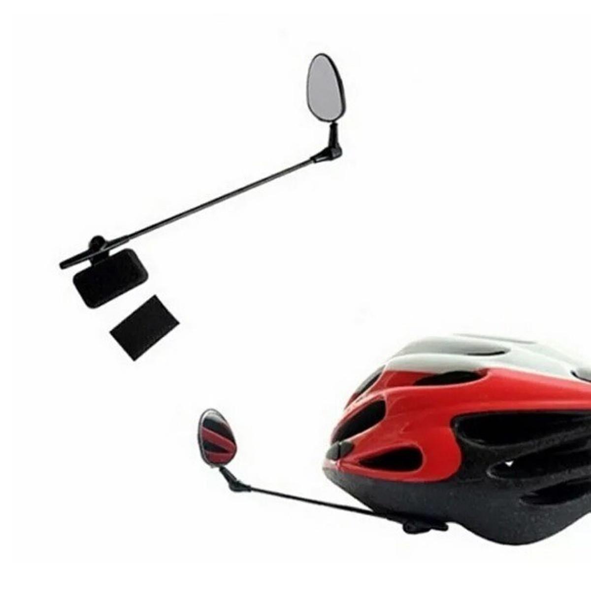 Espelho Retrovisor Jg-1038 Convexo para Capacete e Bicicleta