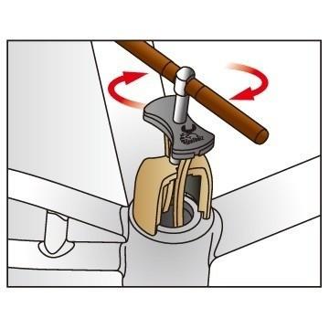 Extrator Rolamento Movimento Central Pressfit E291 Ice Toolz