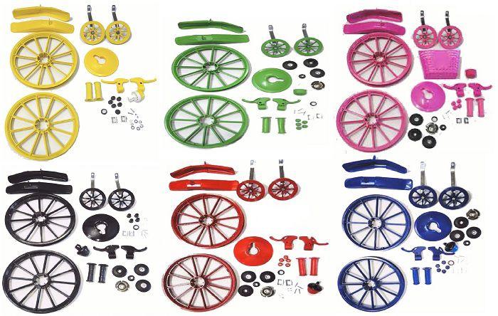 Kit Montagem Bicicleta Infantil Criança Aro 16 Wester