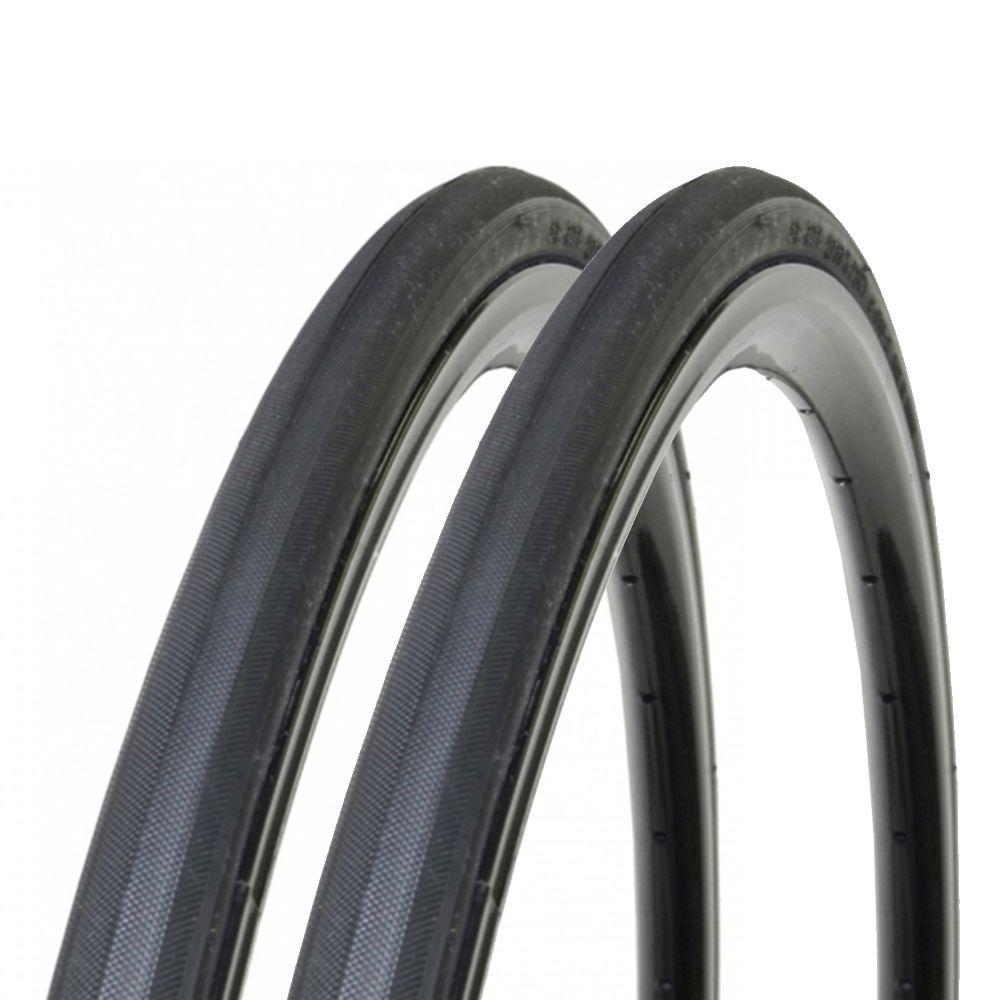 Par Pneu Pirelli 700 x 23 Corsa Pro Preto Arame