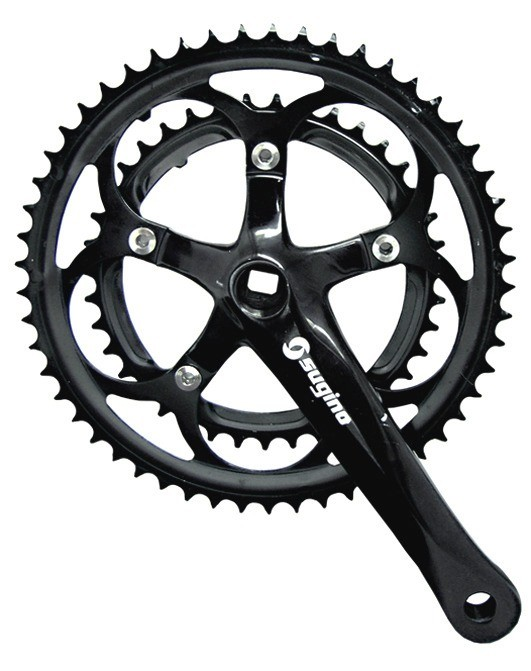 Pedivela Sugino Duplo 39/53D 170mm Preto Speed Bike