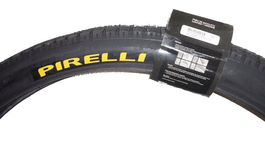 Pneu Pirelli 26 x 1.1/2x2 Primor 425 Preto Arame 45 Psi