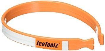 Presilha P Tornozelo Com Refletor Ice Toolz Calça Bicicleta