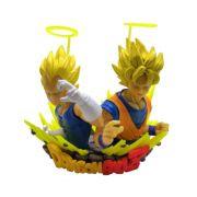 Figure Busto Goku e Vegeta - Dragon Ball Z DBZ - 11CM