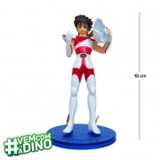 Action Figure CDZ Seiya 10CM PVC Base Azul Escura
