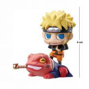 Action Figure Chibi Naruto com Sapo 4CM PVC