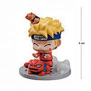 Action Figure Chibi Naruto com Sapo mod. 3 4CM PVC