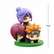 Action Figure Chibi Naruto Pain e Cia 4CM PVC